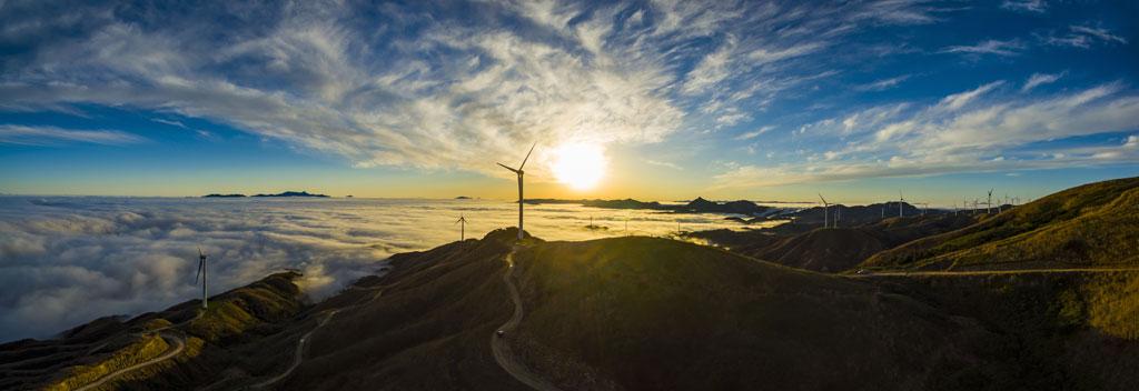 energia pulita per i cambiamenti climatici
