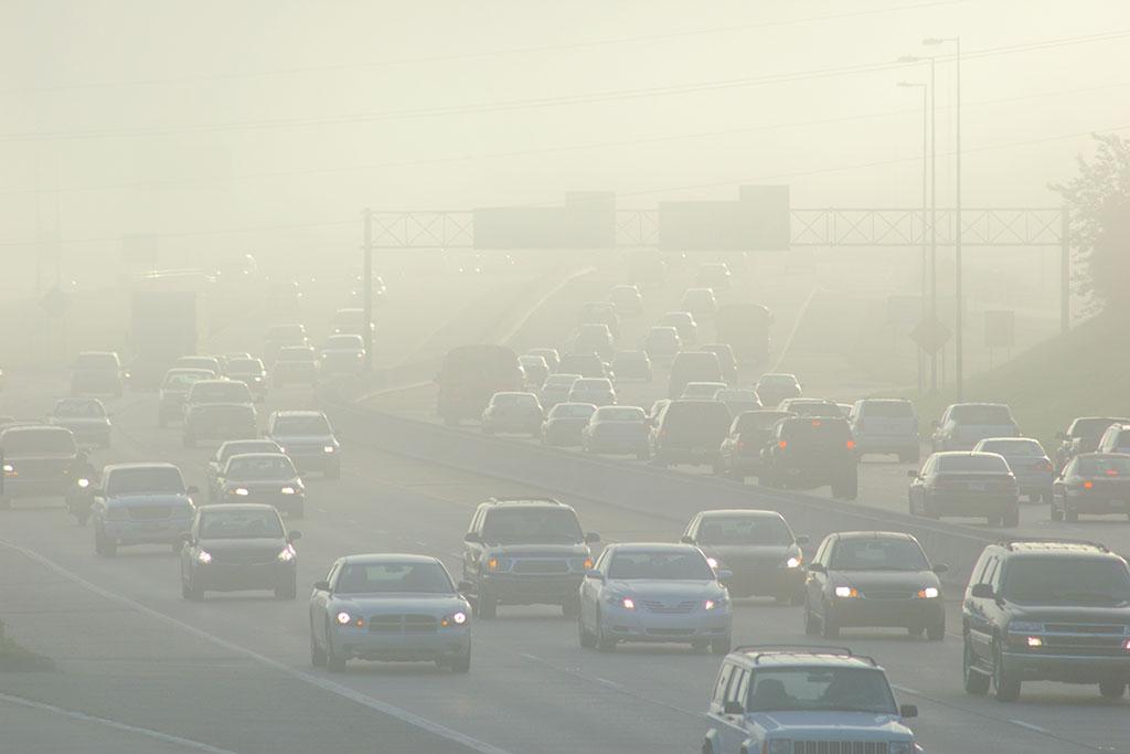 inquinamento dell'aria da polveri sottili