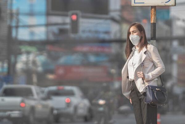 correlazione tra inquinamento dell'aria e Covid-19