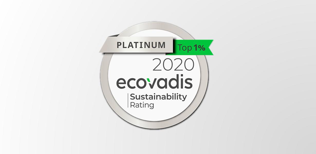 La CSR di Arval ottiene il livello Platinum di Ecovadis nel 2020. Gold Rating per Arval Italia 1