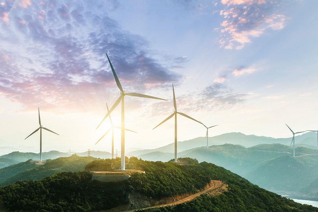 energia eolica per ridurre le emissioni